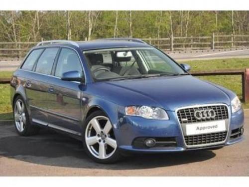 2006 Audi A4 Avant (Blue)