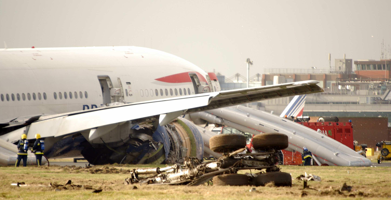 British Airways flight 38