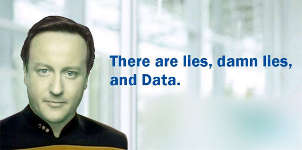 David Cameron - Lies, Damn Lies and Data