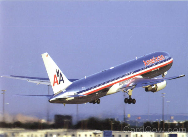 AA 767 w old livery COMMERCIAL FLIGHT t Aviation