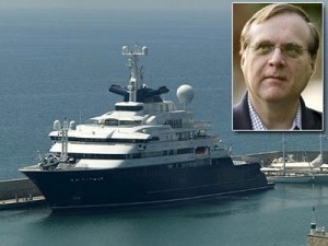 """Programming might not make you rich. But here's Paul Allen's private yacht, """"Octopus""""."""