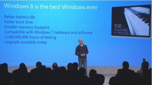 """""""Windows 8 is the best Windows ever"""". And by """"best ever"""", Steven Sinofsky meant """"so good I'm going to quit the company a month after its release""""."""