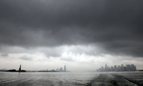 Hurricane Irene heads for New York